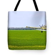 Crop Dusting Tote Bag