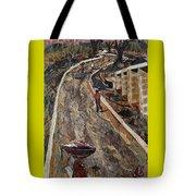 Cross-country Road Tote Bag