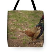 Crowing Tote Bag