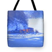 Csx Train Tote Bag
