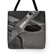 Cuatro Guitar And Flute Tote Bag