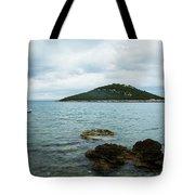 Cunski Beach And Coastline, Losinj Island, Croatia Tote Bag