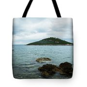 Cunski Beach And Coastline, Losinj Island, Croatia Tote Bag