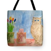 Cute And Cuddly Tote Bag
