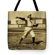 Cy Young With The Boston Americans 1908 Tote Bag