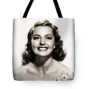 Cyd Charisse, Vintage Hollywood Legend Tote Bag