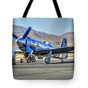 Czech Mate Engine Start Sunday Afternoon Gold Unlimited Reno Air Races Tote Bag