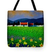 Daffodil Meadow Tote Bag