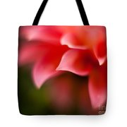 Dahlia Edges Tote Bag