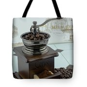 Daily Grind Coffee Beans Tote Bag
