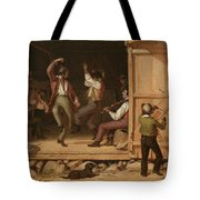 Dance Of The Haymakers Tote Bag