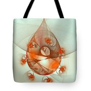 Dance Of The Netcasters Tote Bag