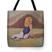 Dancer At Rest Tote Bag