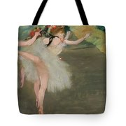 Dancers In White Tote Bag
