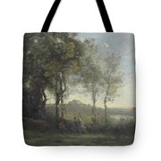 Dancers Of Castel Gandolfo Tote Bag