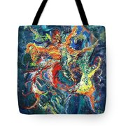 Dancing Butterflies Tote Bag