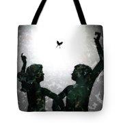 Dancing Silhouettes Tote Bag