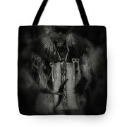 Dancing To The Drum Tote Bag