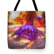 Dancing To The Drums Tote Bag