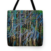 Dancing Trees Tote Bag