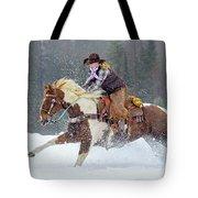 Dashing Through The Snow Tote Bag