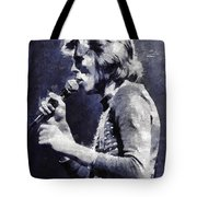 David Bowie By Mary Bassett Tote Bag