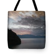 Dawn At Casa De Mundo Lake Atitlan 1 Tote Bag