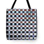 Dead Pine Tree Abstract Tote Bag