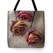 Dead Roses Tote Bag