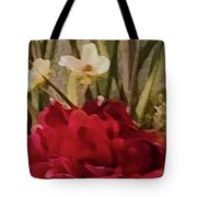 Decorative Mixed Media Floral A3117 Tote Bag