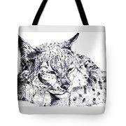 Deer Tiger Tote Bag