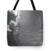 Degraded Landscape Minerals Mine In South Of Poland.  Tote Bag