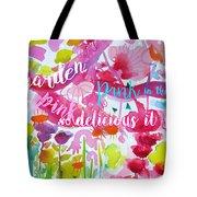Delicious Pink Tote Bag