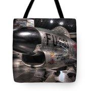 Dennis The Menace, North American, F-86d Sabre Tote Bag