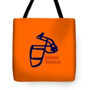 Denver Broncos Retro Shirt Tote Bag
