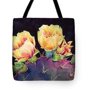 Desert Bloom 2 Tote Bag by Hailey E Herrera