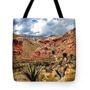 Desert Cactus Tote Bag
