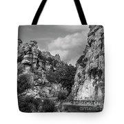 Desert Mountain Drive Tote Bag