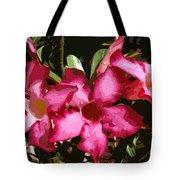 Desert Rose   Adenium Obesum Tote Bag