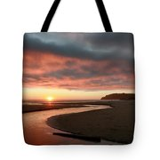 Devils Kitchen Sunset Tote Bag