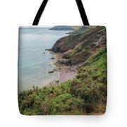 Devon Coastal View Tote Bag