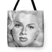 Diana Dors Tote Bag