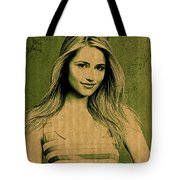 Dianna Agron Tote Bag