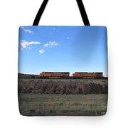 Diesel Train Engines Tote Bag