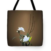 Digital Flower Arrangement Tote Bag