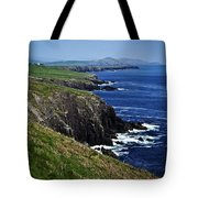 Dingle Coastline Near Fahan Ireland Tote Bag