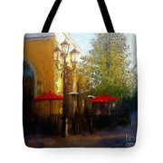 Dining At The Village Tote Bag