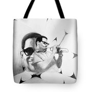 Dizzy Gillespie (1917-1993) Tote Bag