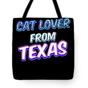 Dog Lover From Texas Tote Bag