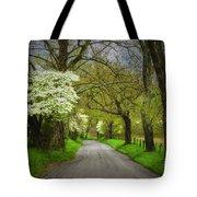 Dogwood Trail, Smoky Mountain, Tennessee Tote Bag